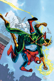 Marvel Adventures Spider-Man No.5 Cover: Spider-Man and Electro Posters by Patrick Scherberger