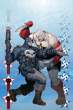 Punisher War Journal No.8 Cover: Punisher and Hate-Monger Posters af Ariel Olivetti