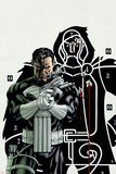 Mike McKone - Punisher No.2 Cover: Punisher Plakát