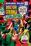 Strange Tales No.160 Cover: Dr. Strange and Baron Mordo Photo by Marie Severin
