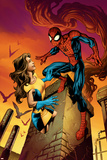 Ultimate Spider-Man Annual No.1 Cover: Spider-Man and Shadowcat Prints by Mark Brooks