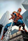 Amazing Spider-Man No.520 Cover: Spider-Man Swimming Plakaty autor Mike Deodato