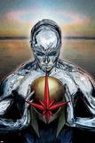 Nova No.14 Cover: Silver Surfer Poster