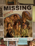 Runaways No.18 Cover: Runaways, Old Lace, Minoru, Nico, Dean and Karolina Fighting Posters by Jo Chen