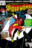 Spider-Woman No.1 Cover: Spider Woman Plakaty autor Carmine Infantino
