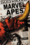 Marvel Apes 4 Cover: Marvel Universe Print by John Watson