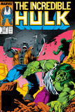 Incredible Hulk No.332 Cover: Hulk Fighting Prints by Todd McFarlane