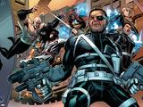 Secret Warriors No.5 Cover: Nick Fury Prints by Jim Cheung