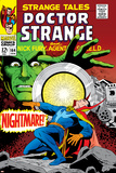 Strange Tales No.164 Cover: Dr. Strange and Yandroth Prints by Dan Adkins