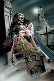 Legion Of Monsters: Morbius 1 Cover: Morbius Swinging Poster by Greg Land