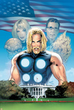 Ultimate Fantastic Four No.27 Cover: Thor Posters by Greg Land