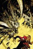 The Amazing Spider-Man No.557 Cover: Spider-Man Billeder af Chris Bachalo