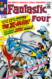 The Fantastic Four No.28 Cover: Mr. Fantastic Photo by Jack Kirby