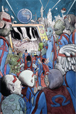 Omega: The Unknown 10 Cover: Marvel Universe Prints by Farel Dalrymple