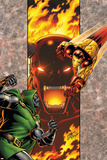 Iron Man: Legacy Of Doom No.2 Cover: Iron Man and Dr. Doom Prints by Ron Lim