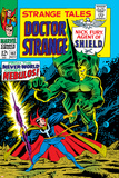 Strange Tales No.162 Cover: Dr. Strange and Nebulos Flying Posters by Dan Adkins