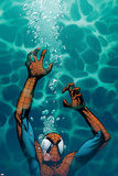 Ultimate Spider-Man No.130 Cover: Spider-Man Prints by Stuart Immonen