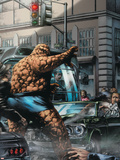 Marvels: Eye Of The Camera No.1 Cover: Thing Print by Jay Anacleto