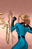 Marvel Knights 4 No.5 Cover: Invisible Woman Print by Steve MCNiven