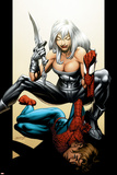 Ultimate Spider-Man No.89 Cover: Spider-Man and Silver Sable Prints by Mark Bagley
