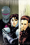 The Loners No.5 Cover: Turbo, Urich, Phil and Darkhawk Posters by Karl Moline