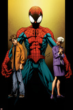 Ultimate Spider-Man No.111 Cover: Spider-Man, Peter and May Parker Posters by Mark Bagley
