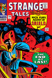 Strange Tales No.146 Cover: Dr. Strange and Eternity Posters by Steve Ditko