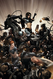 X-Force No.2 Cover: X-23, Warpath and Wolverine Posters by Clayton Crain