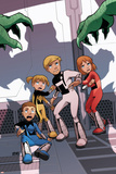 Power Pack: Day One No.2 Cover: Lightspeed, Energizer, Mass Master and Zero-G Poster by  Gurihiru