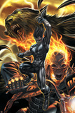 X-Force No.10 Cover: Warpath and Ghost Rider Prints by Mike Choi