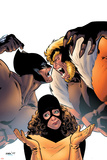 Wolverine: First Class No.2 Cover: Wolverine, Sabretooth and Shadowcat Prints by Kirk Leonard