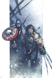 Ultimate War No.3 Cover: Wolverine Posters by Chris Bachalo
