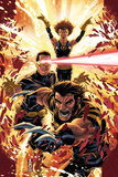 Ultimatum: X-Men Requiem No.1 Cover: Wolverine, Cyclops, Grey and Jean Prints by Mark Brooks