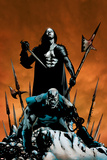 X-Men: Apocalypse Vs. Dracula No.1 Cover: Apocalypse and Dracula Pôsters por Clayton Henry