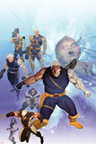 X-Men: Future History - The Messiah War Sourcebook Cover: Cable and Wolverine Posters by Ariel Olivetti