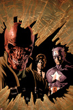 New Avengers No.12 Cover: Red Skull, Captain America, and Nick Fury Posters by Mike Deodato