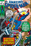 Amazing Spider-Man No.88 Cover: Spider-Man and Doctor Octopus Plakater av John