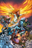 X-Men: Messiah Complex - Mutant Files Cover: Phoenix, Magik and Madrox Posters by Scott Kolins