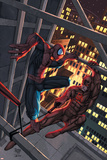 Marvel Age Spider-Man No.15 Cover: Spider-Man and Daredevil Prints by Roger Cruz