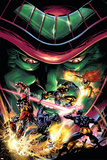 X-Men Unlimited No.13 Cover: Colossus, Wolverine, Beast, Cyclops, Phoenix and Mesmero Print by Clay Mann