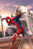 Spider-Man: India No.2 Cover: Spider-Man Poster por Suresh Seetharaman