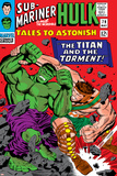 Tales To Astonish No.79 Cover: Hulk and Hercules Posters by Reilly Brown