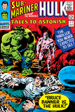 Tales To Astonish No.77 Cover: Hulk, Banner and Bruce Prints by John Romita Sr.