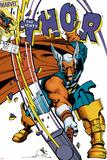 Walt Simonson - The Mighty Thor No.337 Cover: Beta-Ray Bill Plakát