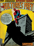 Marvel Comics Retro: The Amazing Spider-Man Comic Panel, the Vulture's Prey (aged) Photo