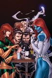 Wolverine Weapon X No.10 Cover: Mystique, Phoenix and Wolverine Posters par Adam Kubert