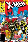 X-Men Annual No.10 Cover: Warlock, Sunspot, Wolfsbane and New Mutants Reprodukcje autor Arthur Adams