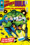 Tales to Astonish No.83 Cover: Hulk and Thunderbolt Ross Posters by Dick Ayers