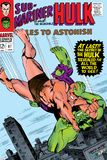 Tales to Astonish No.87 Cover: Hulk and Humanoid Posters by Bill Everett