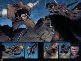 Shin Nagasawa - Wolverine: Soultaker No.4 Group: Wolverine and Zombie Fighting Plakát